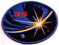 International Space Station Expedition 35 Embroidered Patch